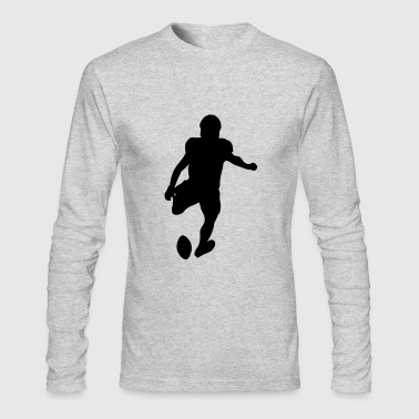 Football player - Men's Long Sleeve T-Shirt by Next Level