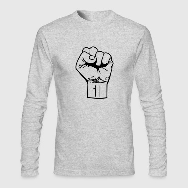 fist - Men's Long Sleeve T-Shirt by Next Level