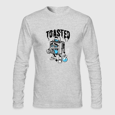 Toasted - Men's Long Sleeve T-Shirt by Next Level