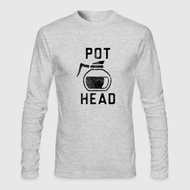 PotHead - Men's Long Sleeve T-Shirt by Next Level