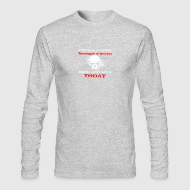 yesterday is history - Men's Long Sleeve T-Shirt by Next Level