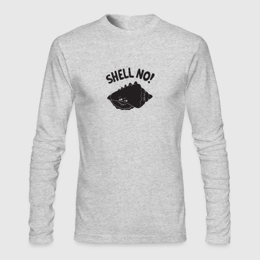 SHELL NO - Men's Long Sleeve T-Shirt by Next Level