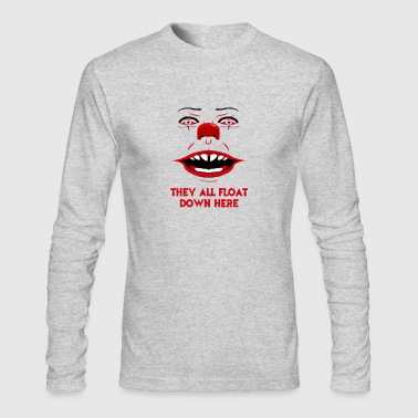 New Design They all float down here - Men's Long Sleeve T-Shirt by Next Level