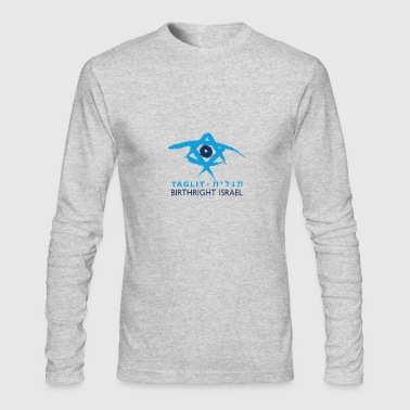 Birthright Israel - Men's Long Sleeve T-Shirt by Next Level