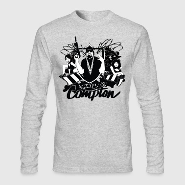 compton gang - Men's Long Sleeve T-Shirt by Next Level