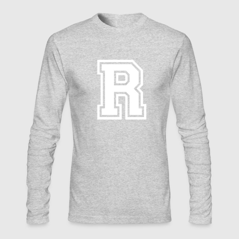 Letter R - Men's Long Sleeve T-Shirt by Next Level