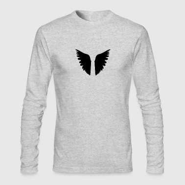 Wings of angel - Men's Long Sleeve T-Shirt by Next Level