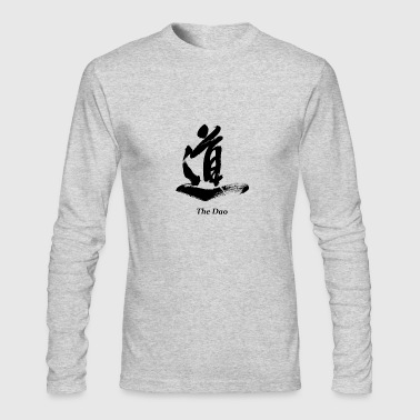 The Dao (Black) - Men's Long Sleeve T-Shirt by Next Level