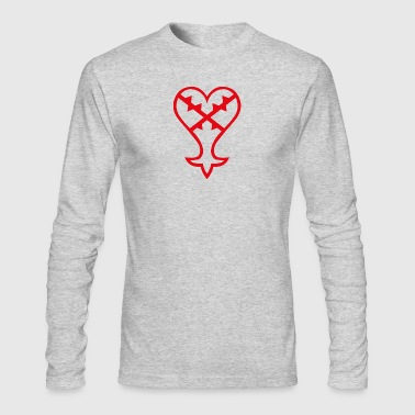 Heartless Heartless Cosplay - Men's Long Sleeve T-Shirt by Next Level