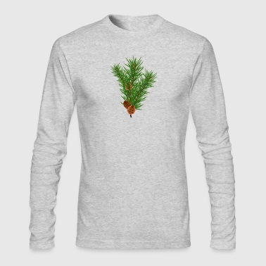 Branch Green Branch - Men's Long Sleeve T-Shirt by Next Level