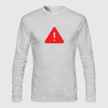 Attention - Men's Long Sleeve T-Shirt by Next Level