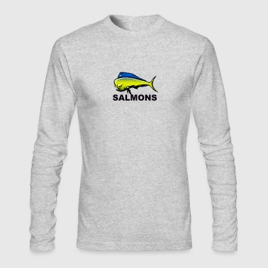 salmons - Men's Long Sleeve T-Shirt by Next Level