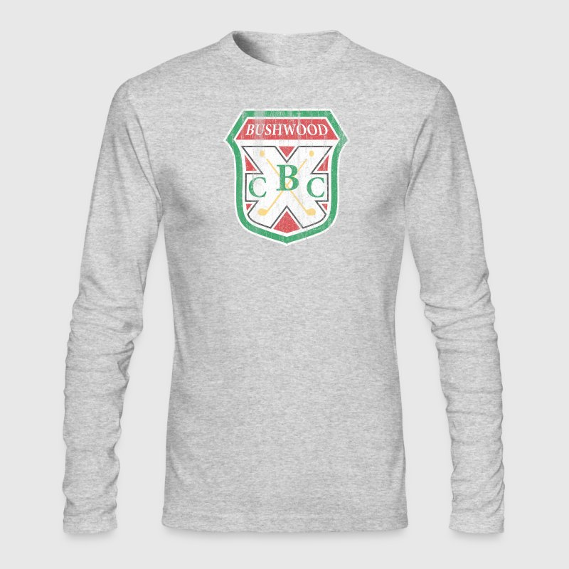 Vintage Bushwood Country Club Crest - Men's Long Sleeve T-Shirt by Next Level
