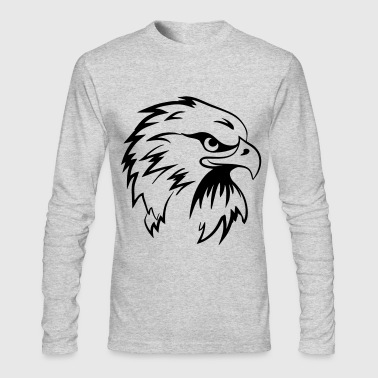 Hawk Hawk - Men's Long Sleeve T-Shirt by Next Level