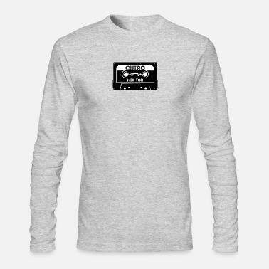 Chiropractic Mixer Mix Tape - Men's Long Sleeve T-Shirt by Next Level