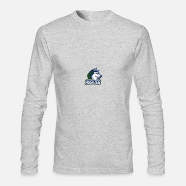 Home Page Husky Logo 1 - Men's Long Sleeve T-Shirt by Next Level