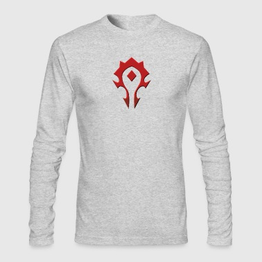 Horde - Men's Long Sleeve T-Shirt by Next Level