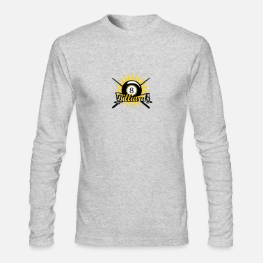 Billiard Ball billiard ball - Men's Long Sleeve T-Shirt by Next Level