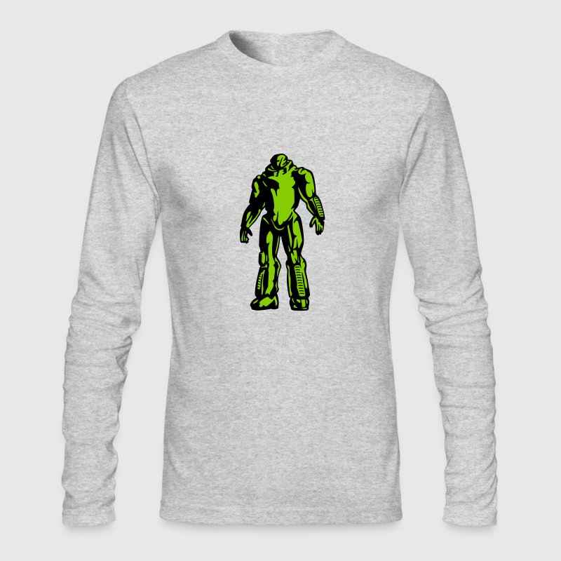 Robot geek - Men's Long Sleeve T-Shirt by Next Level