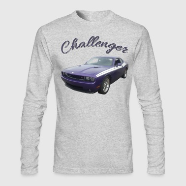 PURPLE CHALLENGER - Men's Long Sleeve T-Shirt by Next Level