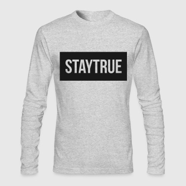 StayTrue Mousepad - Men's Long Sleeve T-Shirt by Next Level