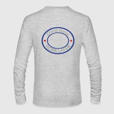 diving - Men's Long Sleeve T-Shirt by Next Level