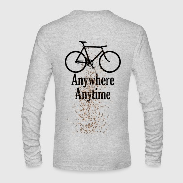 splatter - Men's Long Sleeve T-Shirt by Next Level