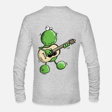 Pop Rock Rock and Pop Frog - Men's Long Sleeve T-Shirt by Next Level