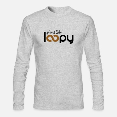Loopy Mom Knitting Shirt Funny Knitter Gift Little Loopy - Men's Longsleeve Shirt