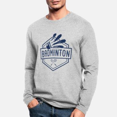 Badminton Racket Badminton racket - Men's Longsleeve Shirt