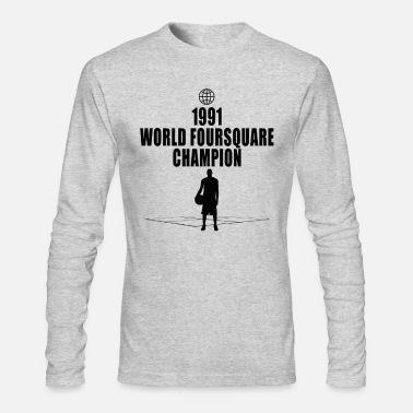 31c2dbd274676f Foursquare Champion Men's Premium T-Shirt   Spreadshirt