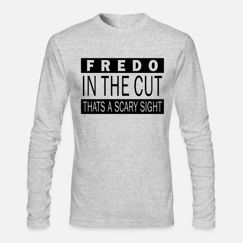 Fredo Long sleeve shirts - Fredo in the cut - Men's Longsleeve Shirt heather gray