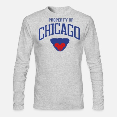 Property Of PROPERTY OF CHICAGO - Men's Longsleeve Shirt