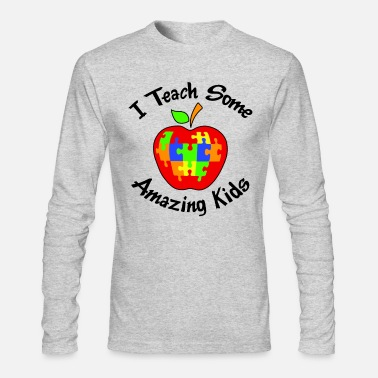 Amazing I Teach Some Amazing Kids - Men's Long Sleeve T-Shirt by Next Level