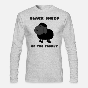 Black Sheep Black Sheep - Men's Long Sleeve T-Shirt by Next Level