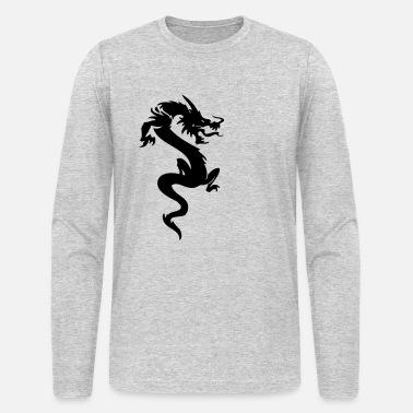 335c344cc Tribal Dragon darr dragon 09 - Men's Longsleeve Shirt. Men's Longsleeve  Shirt