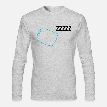 Sleeping Sleep - Men's Long Sleeve T-Shirt by Next Level