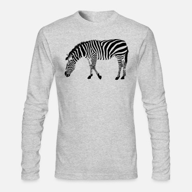 Zebra Stripes Zebra Stripes - Men's Long Sleeve T-Shirt by Next Level