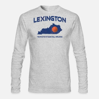 Ink Lexington, KY Epicenter of Basketball Worldwide T - Men's Longsleeve Shirt