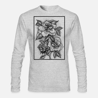 Stage FLOWERING STAGES - Men's Long Sleeve T-Shirt by Next Level