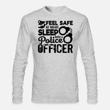 Police Officer Police Officer - Men's Long Sleeve T-Shirt by Next Level