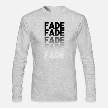 Faded FADE FADE FADE shirt - Men's Longsleeve Shirt