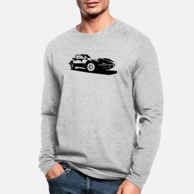 Corvette CORVETTE C3 STINGRAY - Men's Longsleeve Shirt