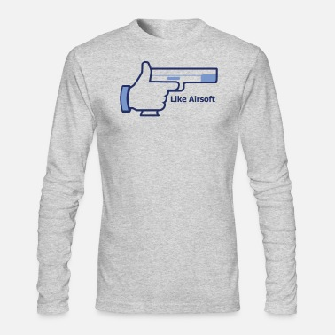 Airsoft Like Airsoft - Men's Long Sleeve T-Shirt by Next Level