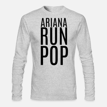 Ariana Ariana Run Pop - Men's Long Sleeve T-Shirt by Next Level
