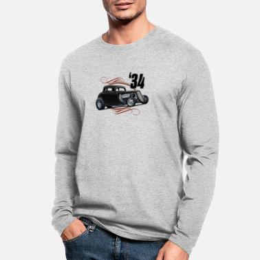 1934 Black 34 Coupe - Men's Longsleeve Shirt