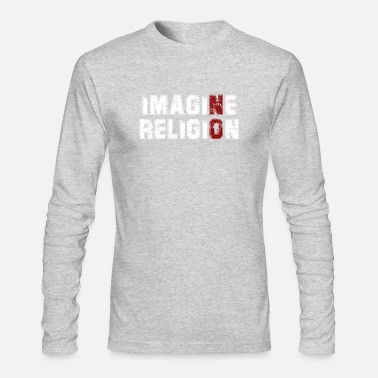 Imagin No Religion - Men's Longsleeve Shirt