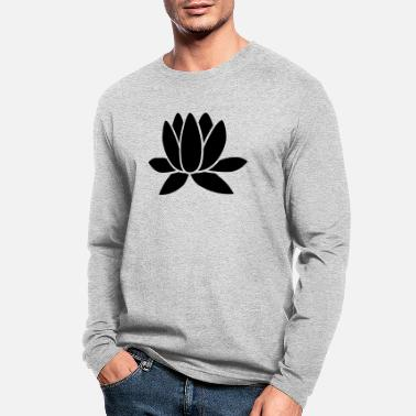 Lotus Blossom Lotus - Men's Longsleeve Shirt