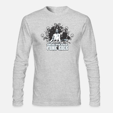 Punk-rock Punk Rock - Men's Long Sleeve T-Shirt by Next Level