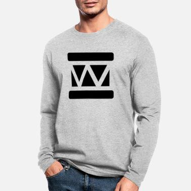 Snare Marching Drum - Men's Longsleeve Shirt